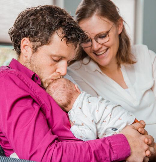 Jeroen en Esmy – Newbornshoot